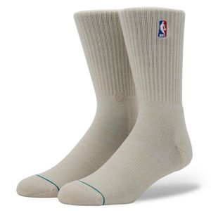 Other - Stance NBA Logoman Crew II Socks - Natural Large